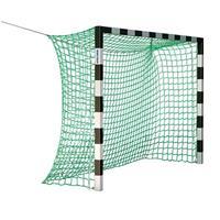 Sport-Thieme Zaalhandbaldoel 3x2 m, zonder Netbeugel, Rood-zilver