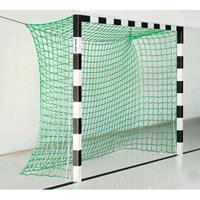 Sport-Thieme Zaalhandbaldoel 3x2 m, zonder Netbeugel, Zwart-zilver