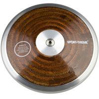 Sport-Thieme Wedstrijd-Discus Hout, 2 kg