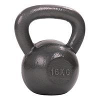 Sport-Thieme Kettlebell Hamerslag, geschilderd, grijs, 16 kg