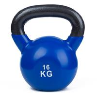 Sport-Thieme Kettlebell Vinyl, 16 kg, Blauw