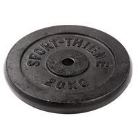 Sport-Thieme Gietijzeren Halterschijf, 20 kg
