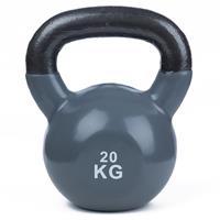 Sport-Thieme Kettlebell Vinyl, 20 kg, Grijs