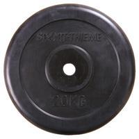 Sport-Thieme Halterschijven met rubber bekleed, 20 kg
