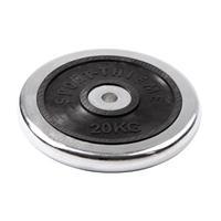 Sport-Thieme Halterschijf van chroom, 20 kg