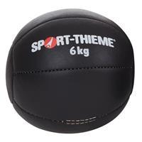 Sport-Thieme Medicine bal Zwart, 6 kg