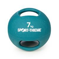 Sport-Thieme Medicinebal met handgrepen, 7 kg, Lichtblauw