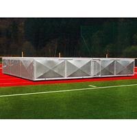 Verrijdbare afdekking voor hoogspringkussen, 500x300x50 cm