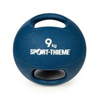 Sport-Thieme Medicinebal met handgrepen, 9 kg, Donkerblauw