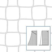 Kleinveld-/handbaldoelnet 80/100 cm, Wit, 4 mm