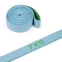 Sport-Thieme Elastische Textiel Powerband Ring, 7 kg, Grijs-groen