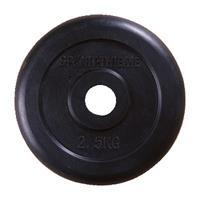 Sport-Thieme Halterschijven met rubber bekleed, 2,5 kg