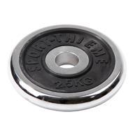 Sport-Thieme Halterschijf van chroom, 2,5 kg