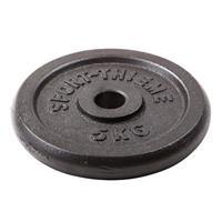 Sport-Thieme Gietijzeren Halterschijf, 5 kg