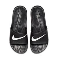 Nike Kawa Shower badslippers zwart/wit