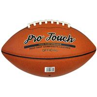 Midwest american football Pro Touch official leer/rubber oranje