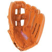 honkbal veldhandschoen junior 25 cm vinyl bruin