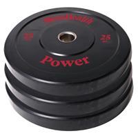 men'shealth Men's Health Bumper Plate - Halterschijf - 50 mm - 25 kg