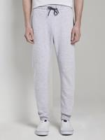 Tom Tailor Jogging Broek met Split Naden, Heren, Light Stone Grey Melange