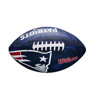 american football NFL Team Logo junior rubber donkerblauw/rood