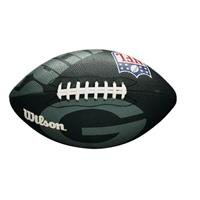 american football NFL Team Logo junior rubber groen/zwart