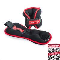gymstick Enkelgewichten / Polsgewichten 2 x 2 kg - Met Online Trainingsvideo's