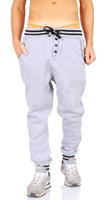 Young & Rich Joggingbroek grijs