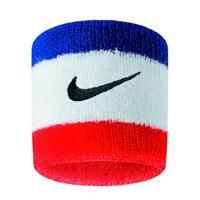 Nike polsband - set van 2 blauw/wit/rood