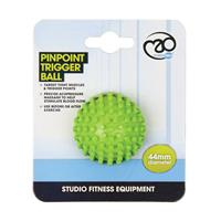 Fitness-Mad Fitness Mad massagebal Pinpoint 4,5 cm PVC lime