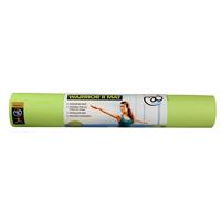 Fitness-Mad Fitness Mad yogamat Warrior 183 x 61 cm PVC lime