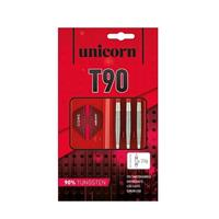 Unicorn T90 Core XL dartset steeltip 26g 90% tungsten rood