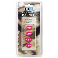 Ultimate Performance magneten voor startnummer roze 4 stuks
