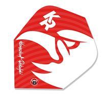 Bull's flights Krzysztof Ratajski 150 micron rood/wit 3 stuks