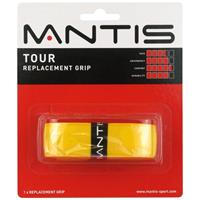 Mantis overgrip tennis Tour Replacement 1,8 mm synthetisch geel