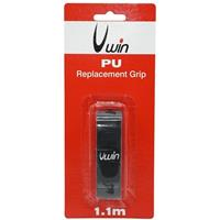 Uwin grip tennis/badminton/squash 1,8 mm synthetisch zwart