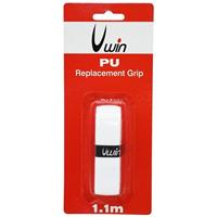 Uwin grip tennis/badminton/squash 1,88 mm synthetisch wit