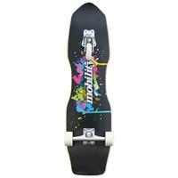 Powerslide skateboard Quakeboard 24,4 x 82 cm hout zwart/wit