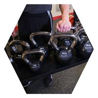 Body-Solid SR-KB kettlebell tray