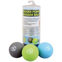 Fitness-Mad Fitness Mad massageballen Trigger Point 6 cm PVC 3 stuks
