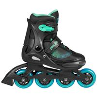 Powerslide inlineskates Playlife Joker junior zwart/groen/blauw 31