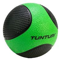Tunturi fitnessbal Medicine 2 kg 19 cm rubber groen/zwart
