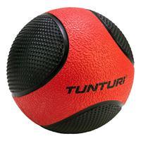 Tunturi fitnessbal Medicine 3 kg 23 cm rubber rood/zwart