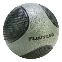 Tunturi fitnessbal Medicine 5 kg 19 cm rubber grijs/zwart