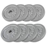 Halterschijven Voordeelbundel 30 kg - Gietijzer