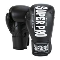 Super Pro bokshandschoenen Champ, Zwart-Wit, 12 oz