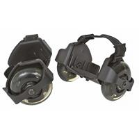 Invento rolschaatsen Flash Roller junior 14 x 8,5 cm zwart