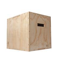 virtufit Houten Crossfit Plyo Box 3-in-1 - Klein - 40 x 45 x 50 cm