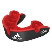 Adidas gebitsbeschermer Opro Gen4 Silver junior rubber zwart