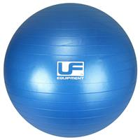 UF Equipment fitnessbal Swiss Ball 65 cm PVC blauw