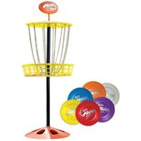 Wham o disc golf set Mini Frisbee junior staal 7 delig